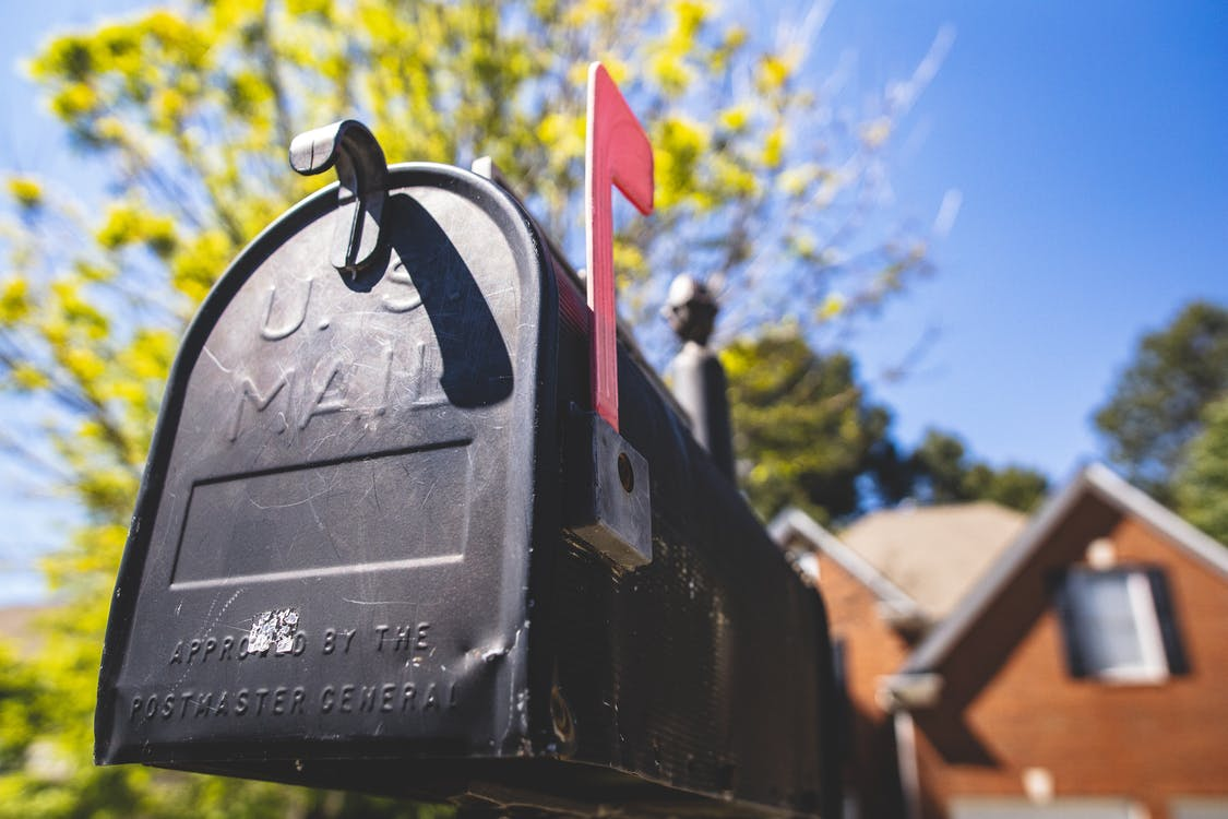 mailbox hit by car in western massachusetts