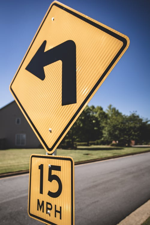 Free stock photo of street signs, yellow