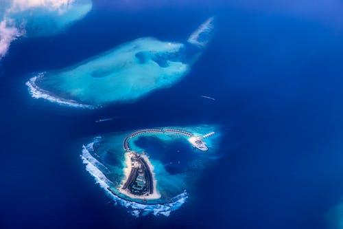 Kostenloses Stock Foto zu atolle, erstaunliche natur, gewässer, hübsch
