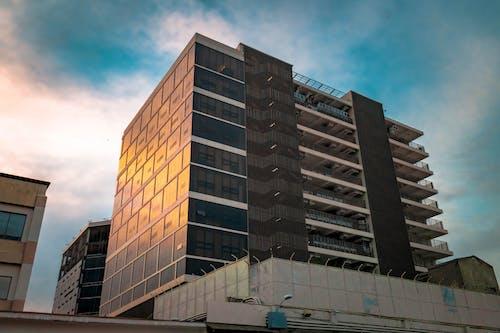 건물, 건축, 구름, 반사의 무료 스톡 사진