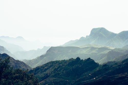 スモッグ, 夏, 山岳, 絶景の無料の写真素材
