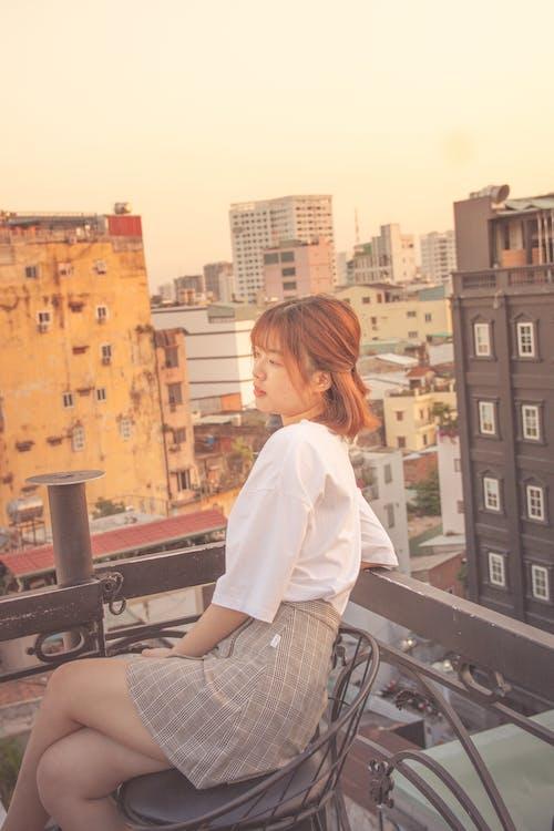 Kostenloses Stock Foto zu asiatische frau, frau, model, modisch