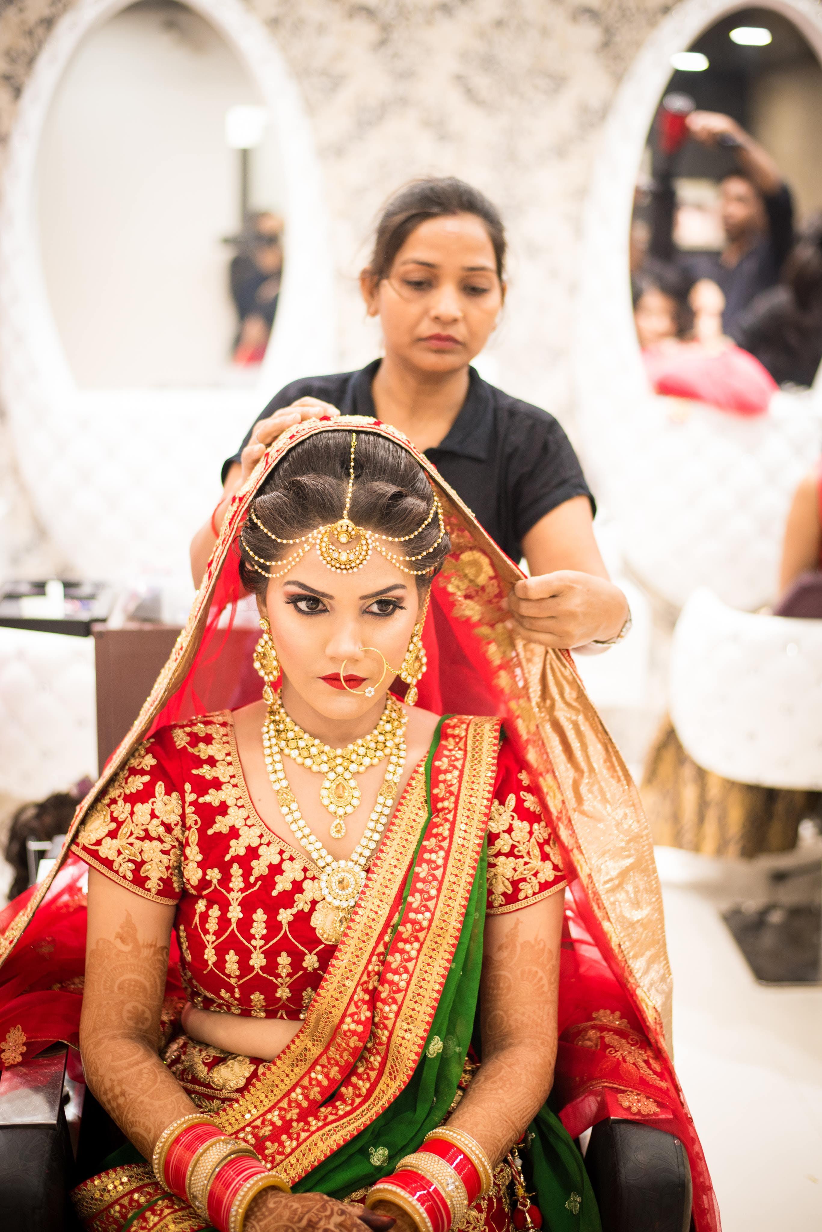 Δωρεάν στοκ φωτογραφιών με Άνθρωποι, βέλο, γαμήλια τελετή, γιορτή