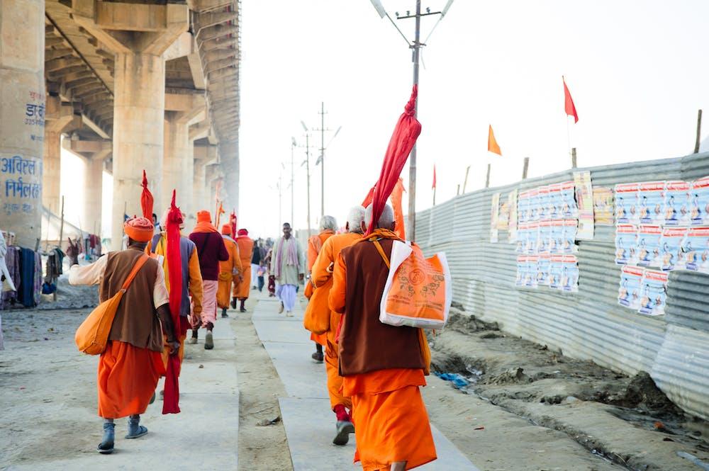 Hindu Saints @pexels