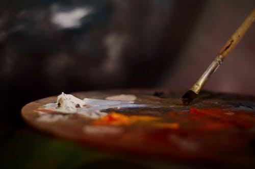 Kostnadsfri bild av måla, pensel, skärpedjup