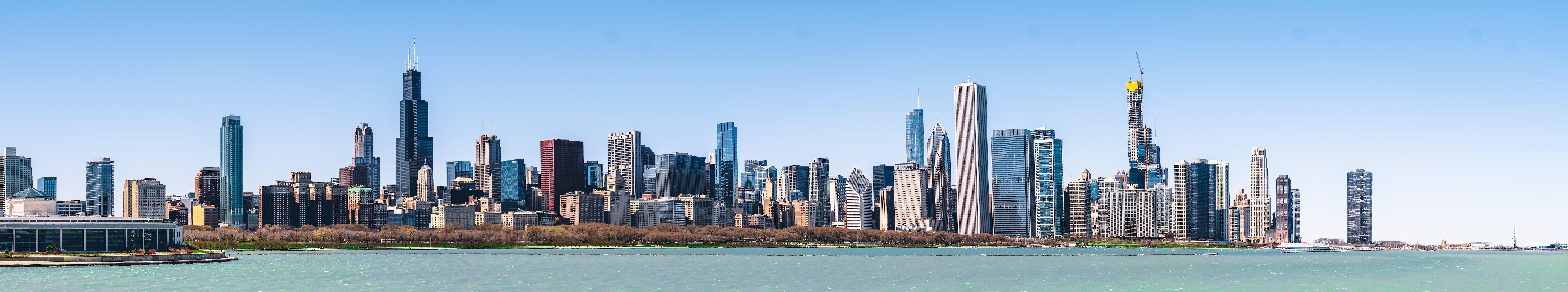 Kostenloses Stock Foto zu chicago, panoramablick, skyline