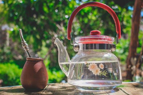 Бесплатное стоковое фото с контейнер, максросъемка, посуда, чайник
