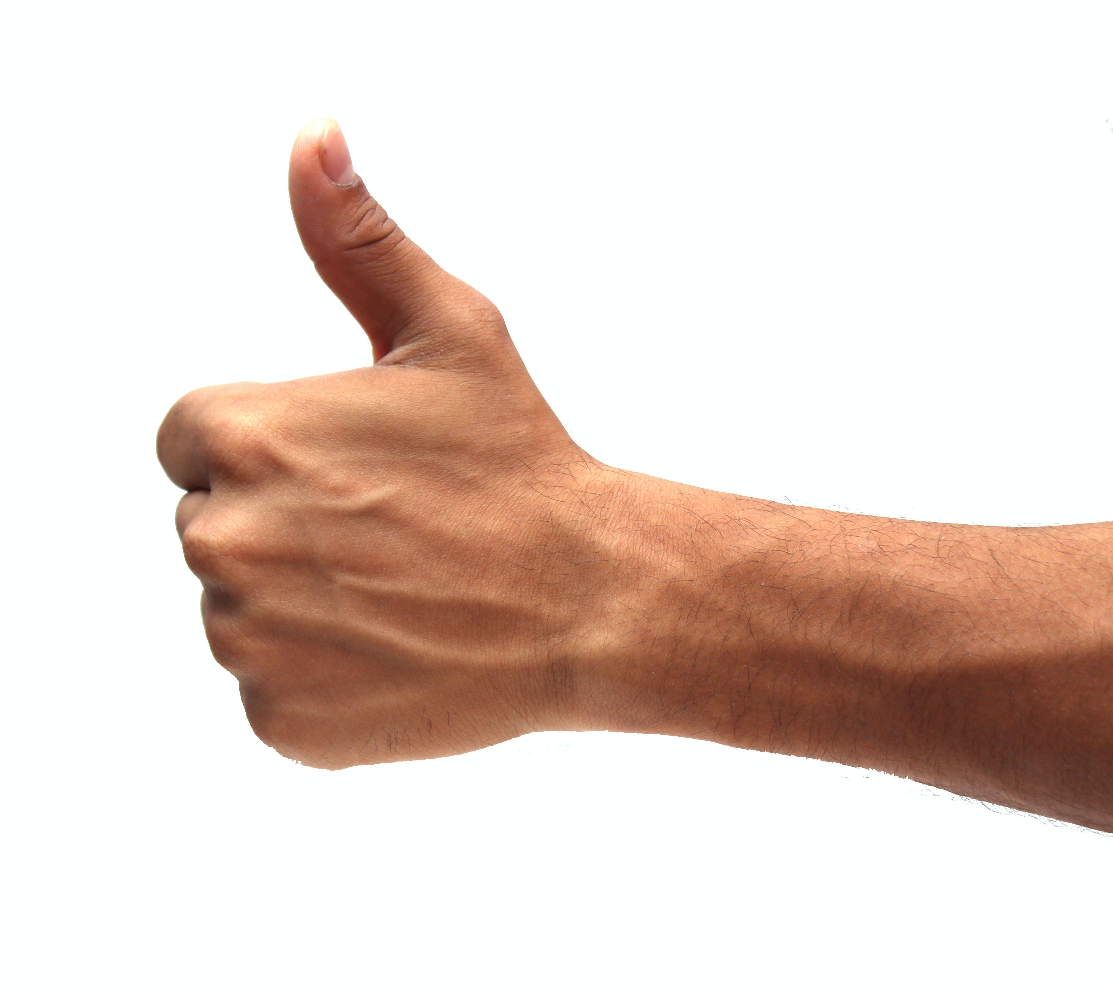 Ảnh lưu trữ miễn phí về da, da trắng, giơ ngón tay cái lên, giống con người