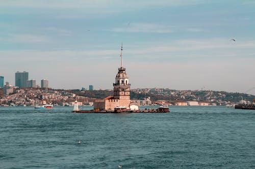 Δωρεάν στοκ φωτογραφιών με ακτή, αρχιτεκτονική, αστικός, βάρκα