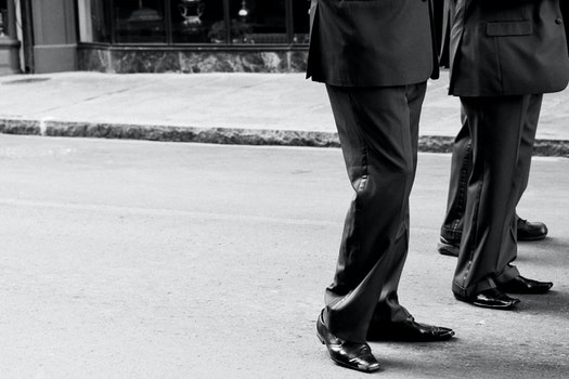 Free stock photo of black-and-white, businessman, man, suit