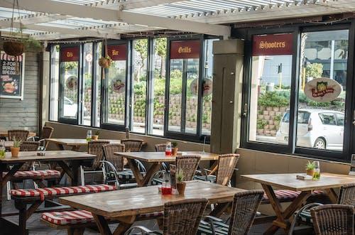 Kostnadsfri bild av arkitektur, bar, dagsljus, dining