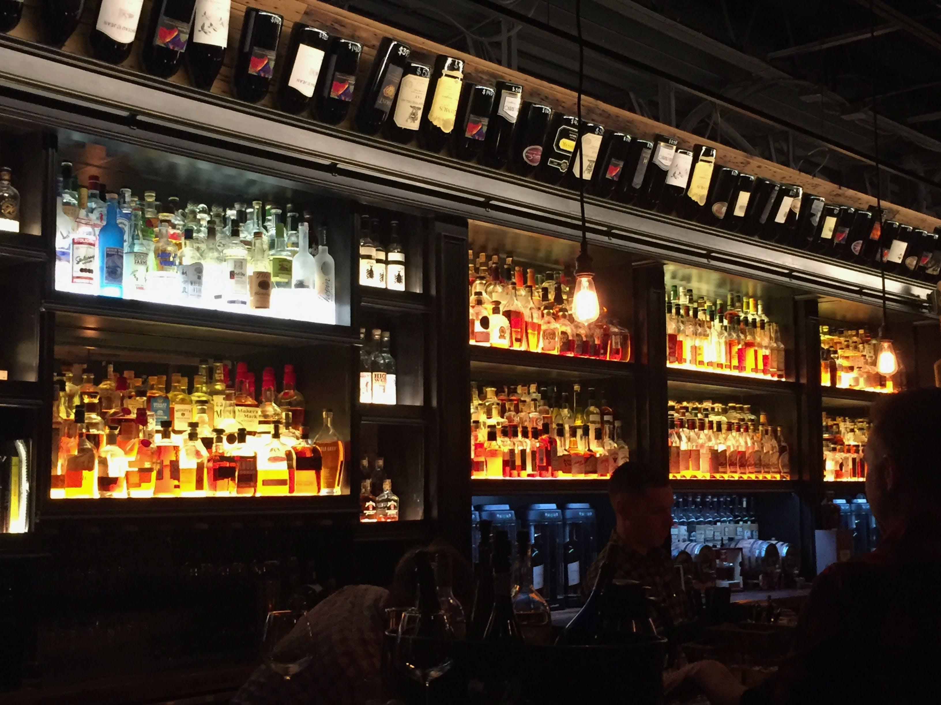 Free stock photo of alcohol, alcohol bottles, alcoholic beverages, bar