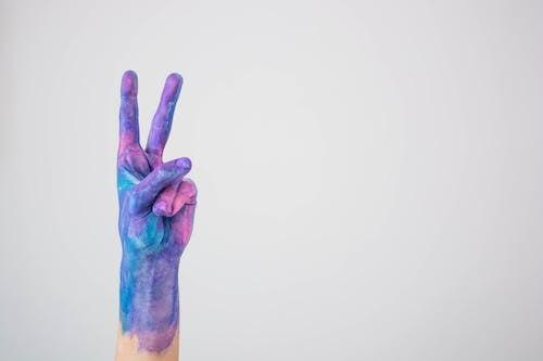 Imagine de stoc gratuită din indicator, mână, pace