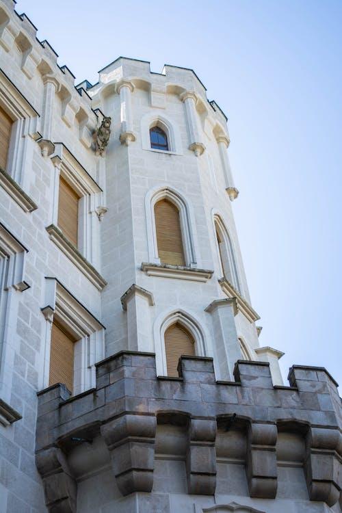 Darmowe zdjęcie z galerii z architektura, budynek, okna, perspektywa