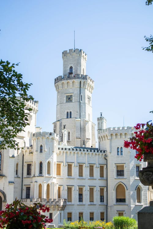 kiến trúc, Lâu đài, mốc