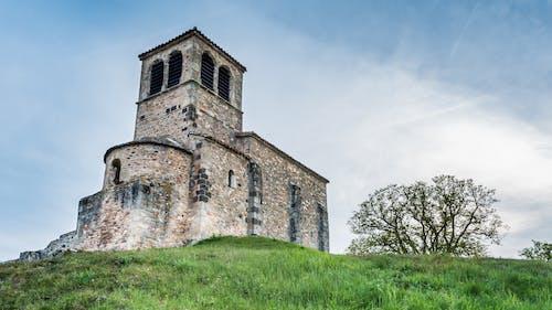 Photos gratuites de chapelle, chapelle saint-vincent, coucher de soleil, église