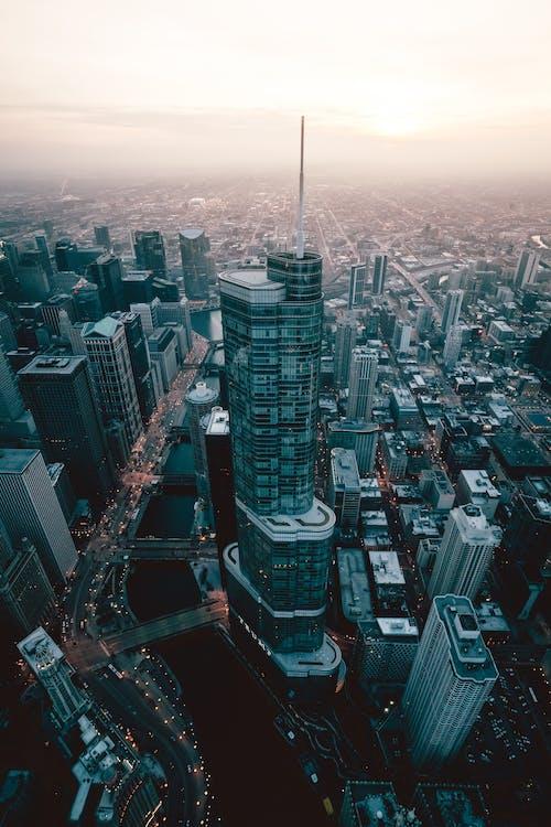 Foto stok gratis Arsitektur, Arsitektur modern, bangunan, fotografi drone