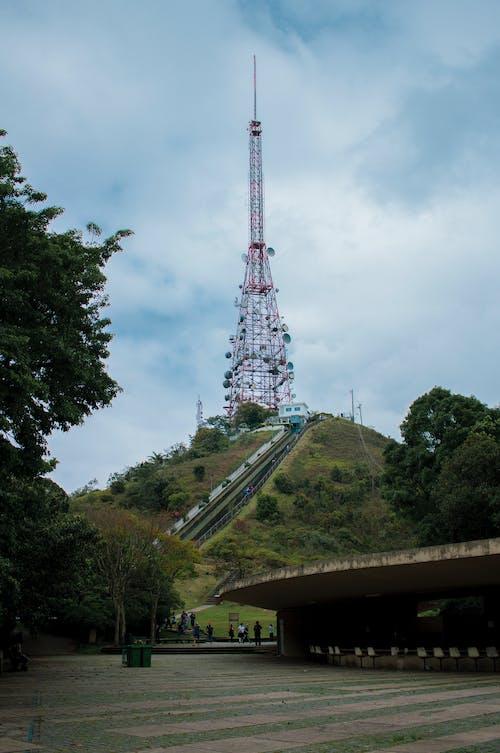 Gray Metal Tower