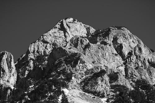 açık hava, dağ, dağ doruğu, doğa içeren Ücretsiz stok fotoğraf