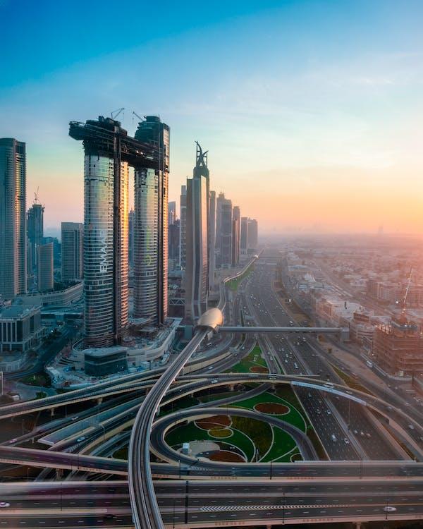 arkitektur, bilar, byggnader