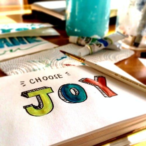 Ingyenes stockfotó boldogság, ecset, festés, festmény témában