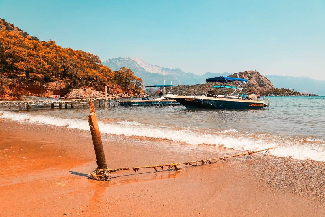 берег, берег моря, відпустка