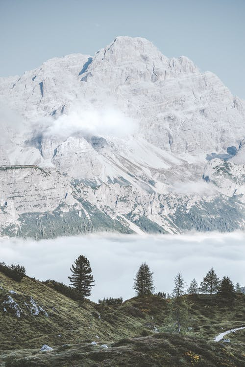 4k achtergrond, 4k bureaublad, Alpen