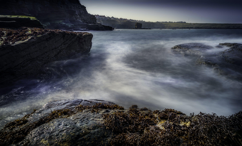 Gratis lagerfoto af aften, hav, havudsigt, horisont