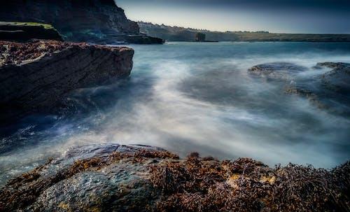 Ilmainen kuvapankkikuva tunnisteilla aamu, hämärä, hiekkaranta, horisontti