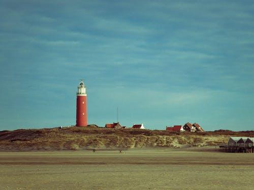 Gratis lagerfoto af fyrtårn, ved stranden