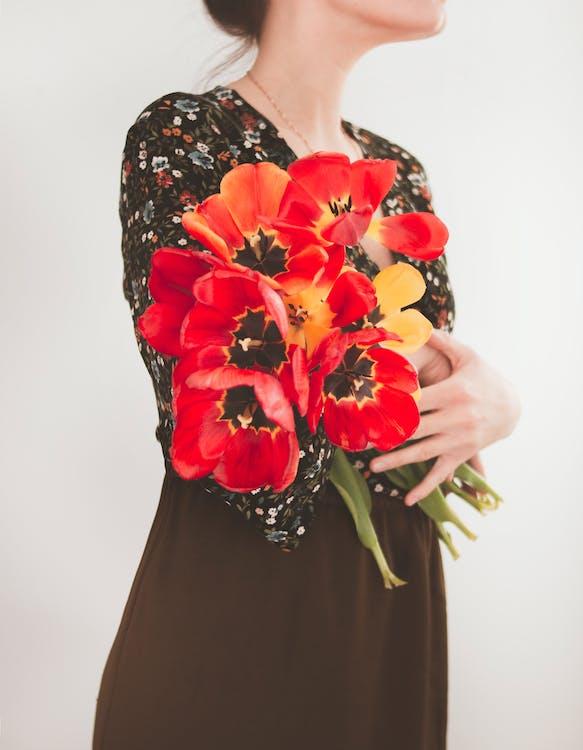 bloemen, bloemstuk, boeket