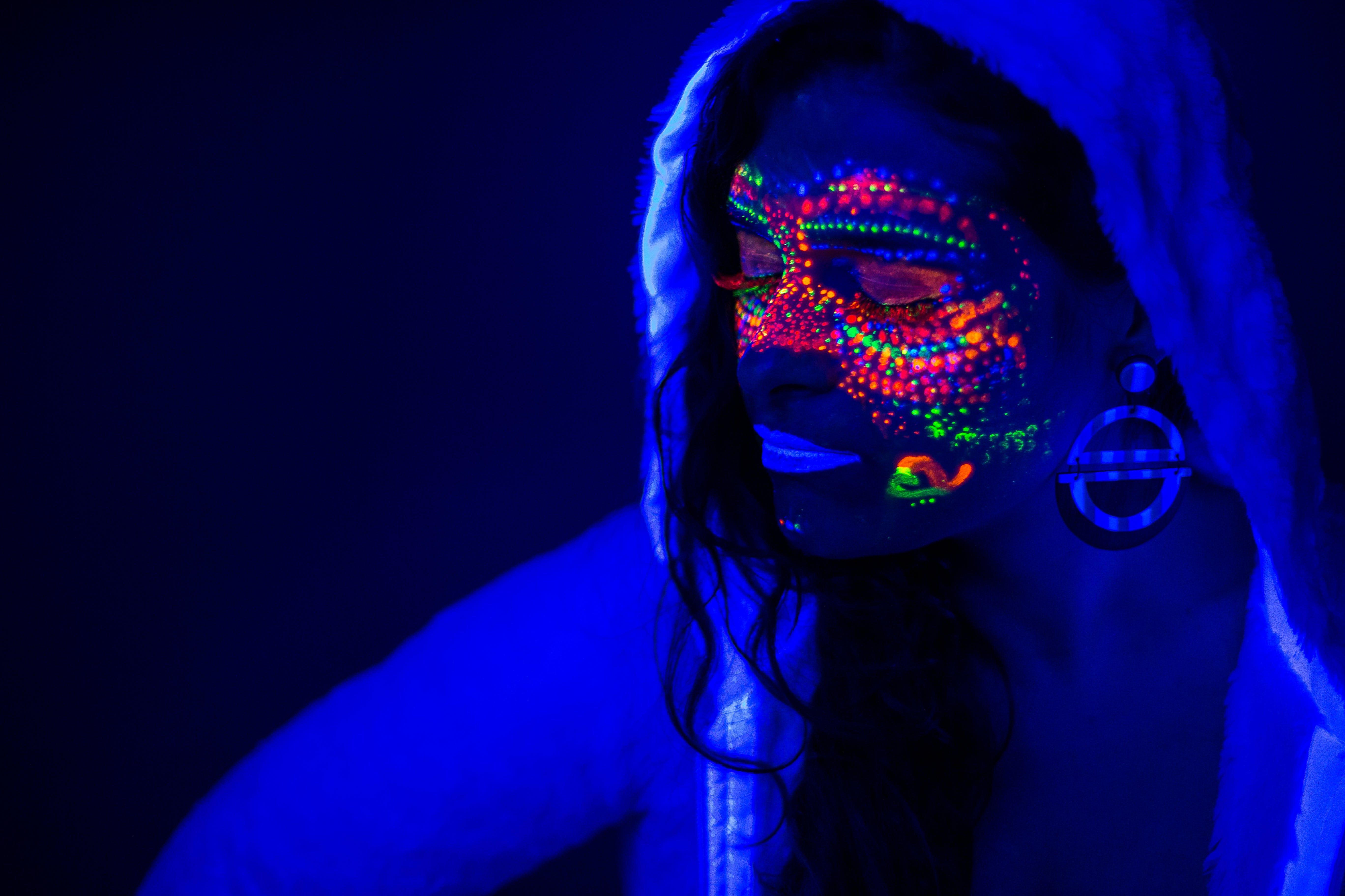 Kostenloses Stock Foto zu beleuchtet, beleuchtung, bunt, design