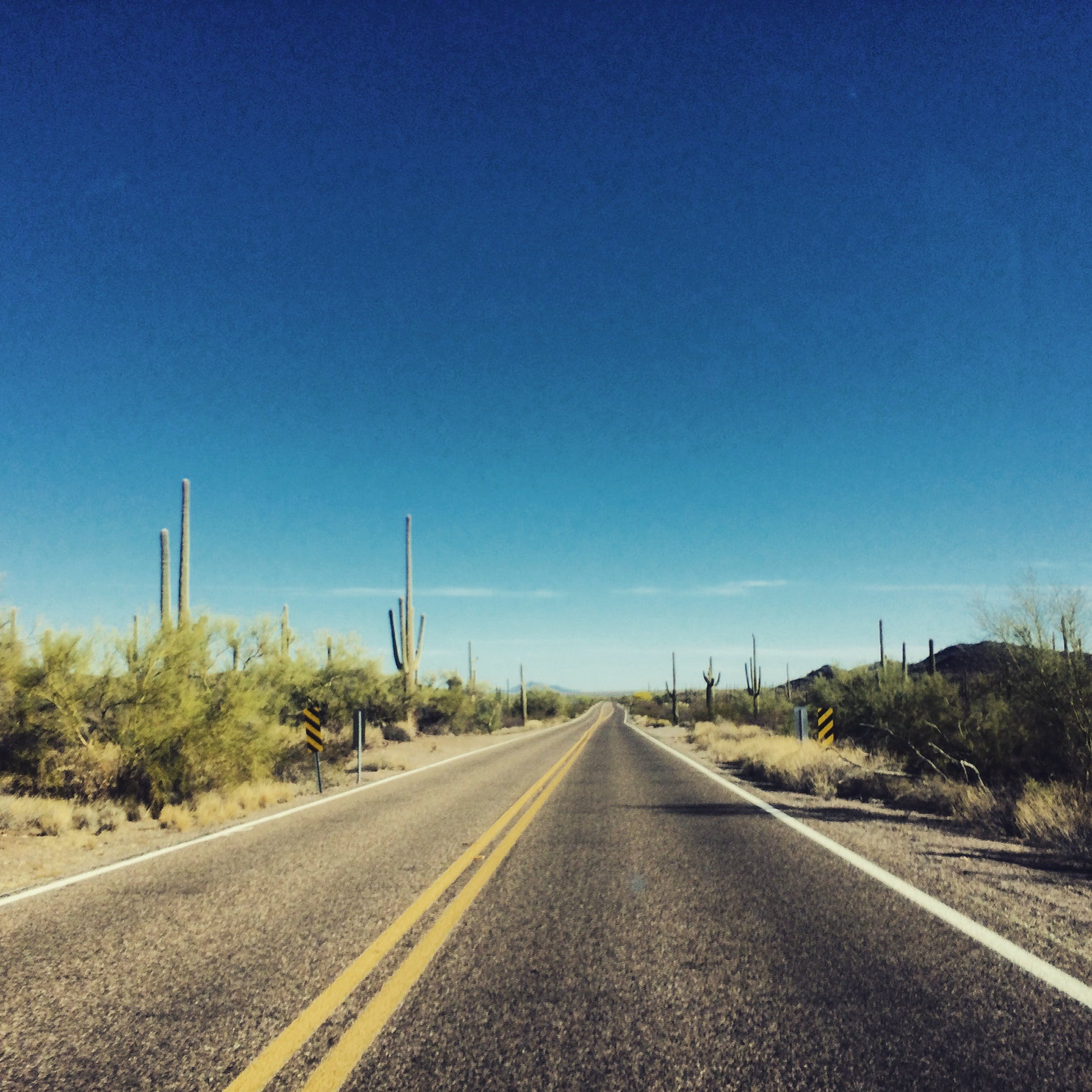 Foto stok gratis aspal, gurun pasir, horison, jalan