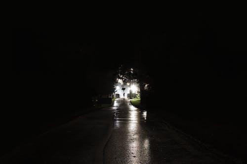 ダーク, 墓地, 闇, 電灯の無料の写真素材
