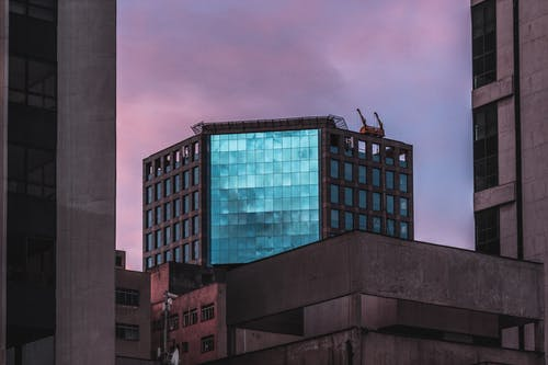 Kostenloses Stock Foto zu architektur, glas, innenstadt, stadt