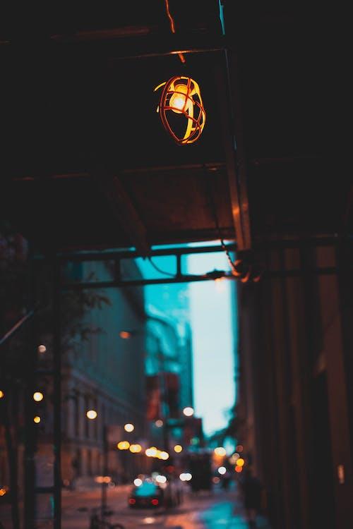 คลังภาพถ่ายฟรี ของ ตอนเย็น, ถนน, พลังงาน, มืด