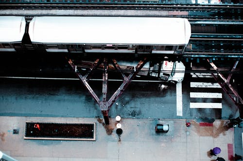 Безкоштовне стокове фото на тему «аерознімок, з висоти польоту, залізниця, зверху»