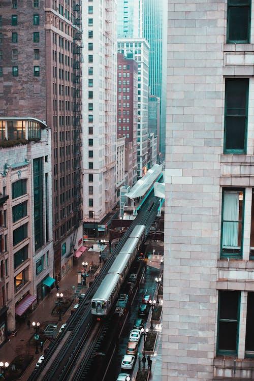 คลังภาพถ่ายฟรี ของ การท่องเที่ยว, จากข้างบน, ตัวเมือง, ตึก