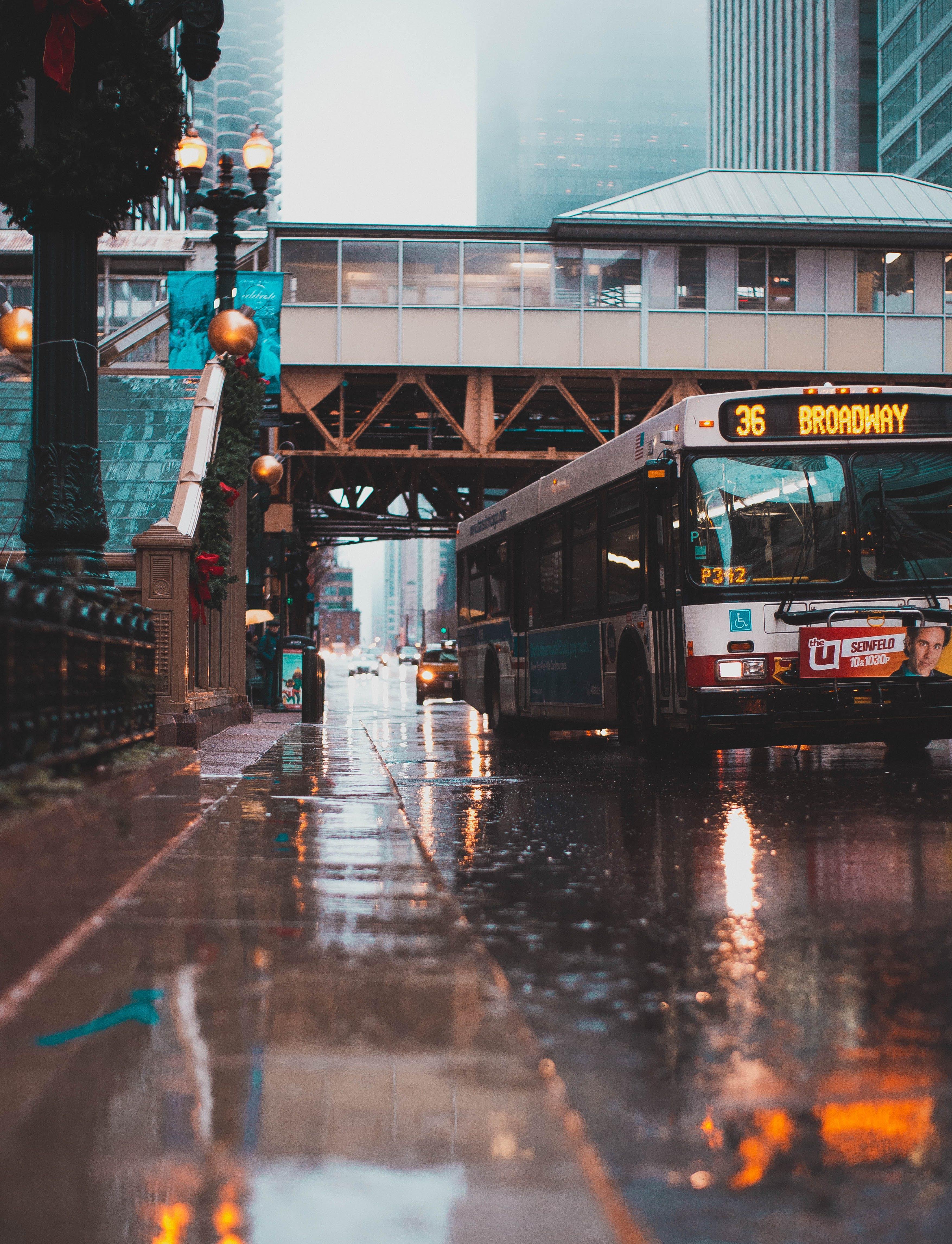シティ, バス, 交通機関, 車両の無料の写真素材