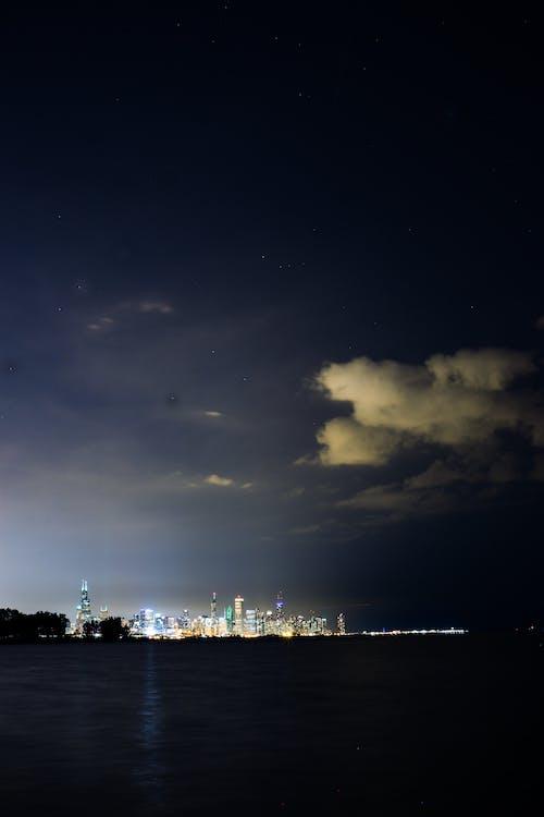 City Skyline at Night-time