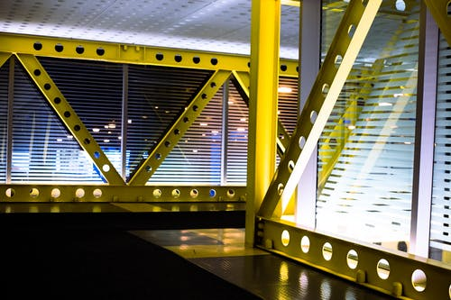 Fotos de stock gratuitas de acero, adentro, arquitectura, arquitectura moderna