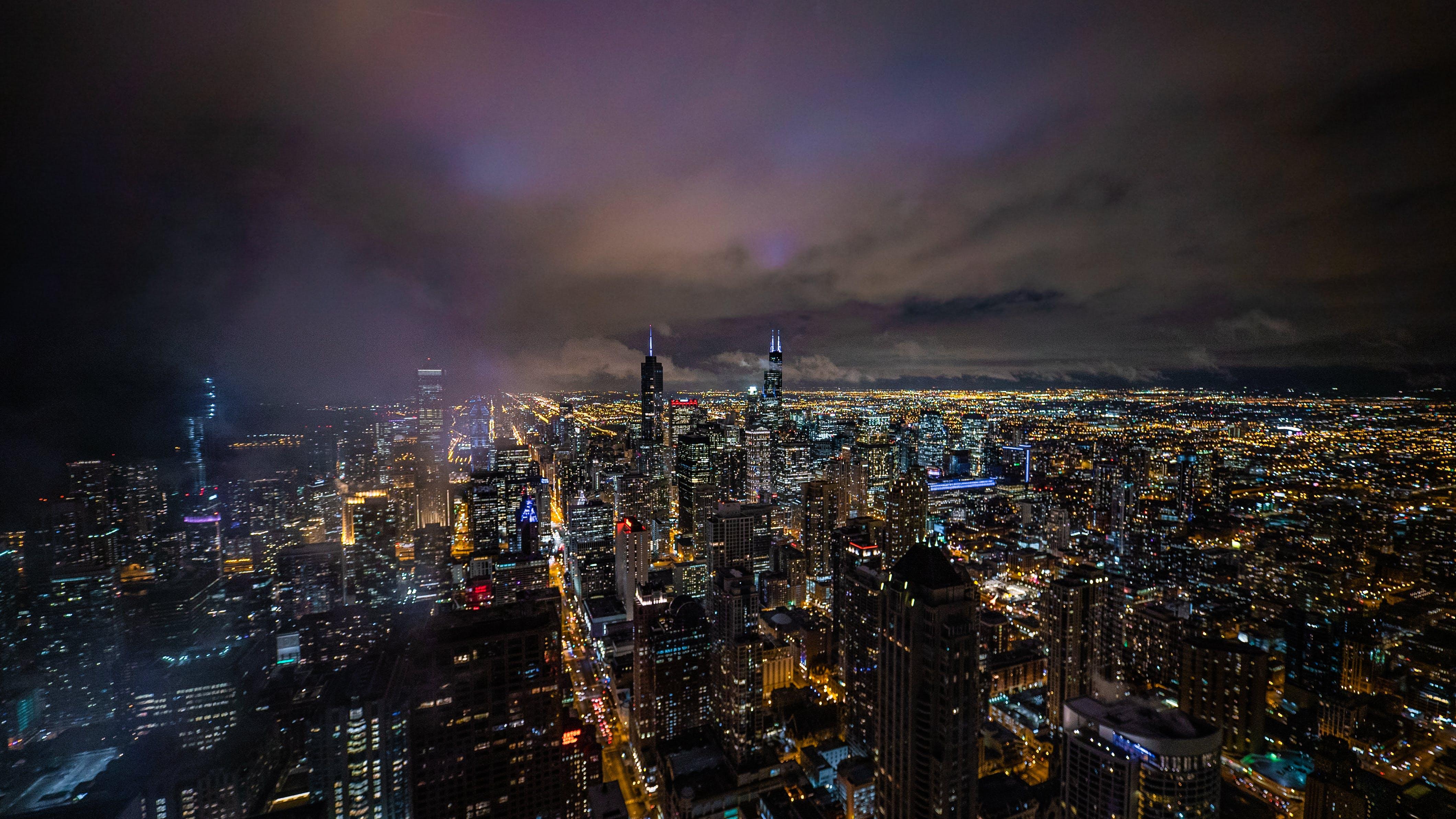 가장 높은, 건물, 건축, 경치가 좋은의 무료 스톡 사진