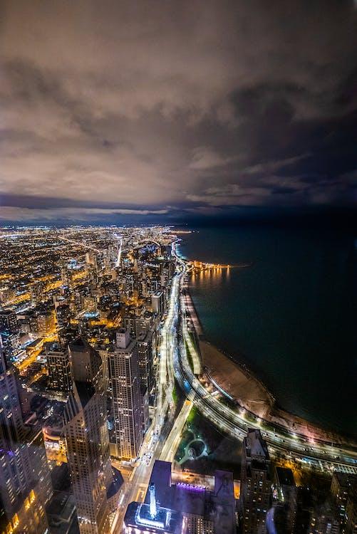 Chicago, építészet, épületek