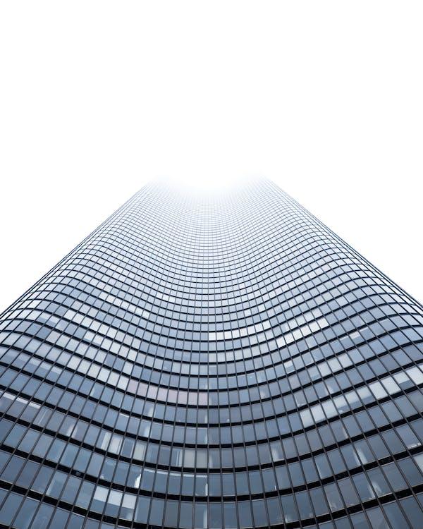 abstraktný, budova, dizajn