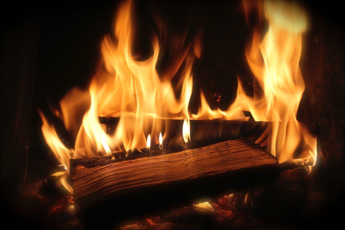 暖炉, 木材, 火の無料の写真素材