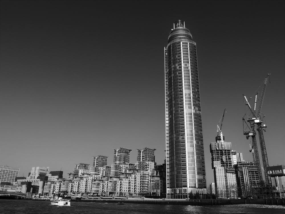 城市, 塔, 外觀