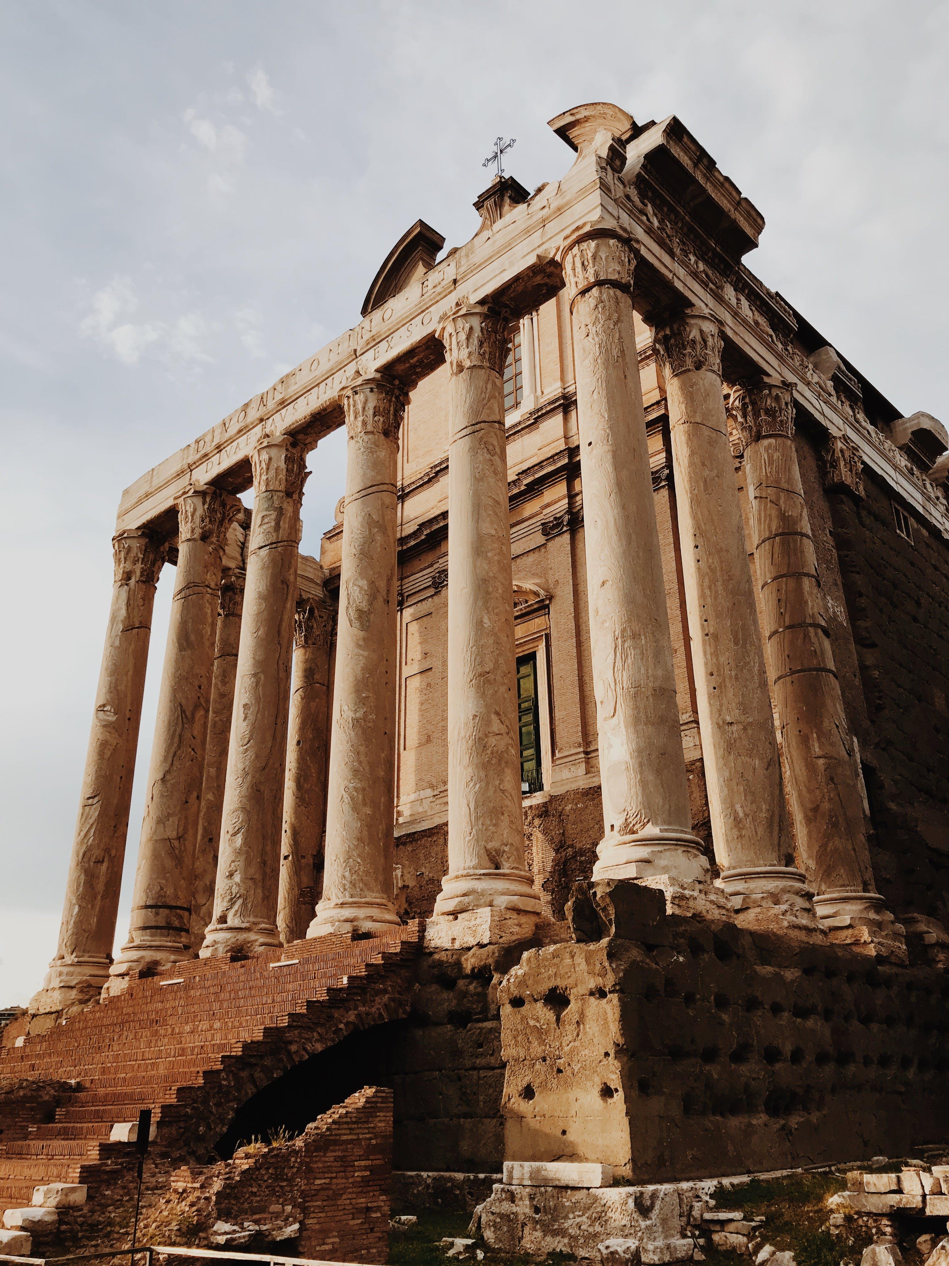 Kostenloses Stock Foto zu alt, antik, archäologie, architektur