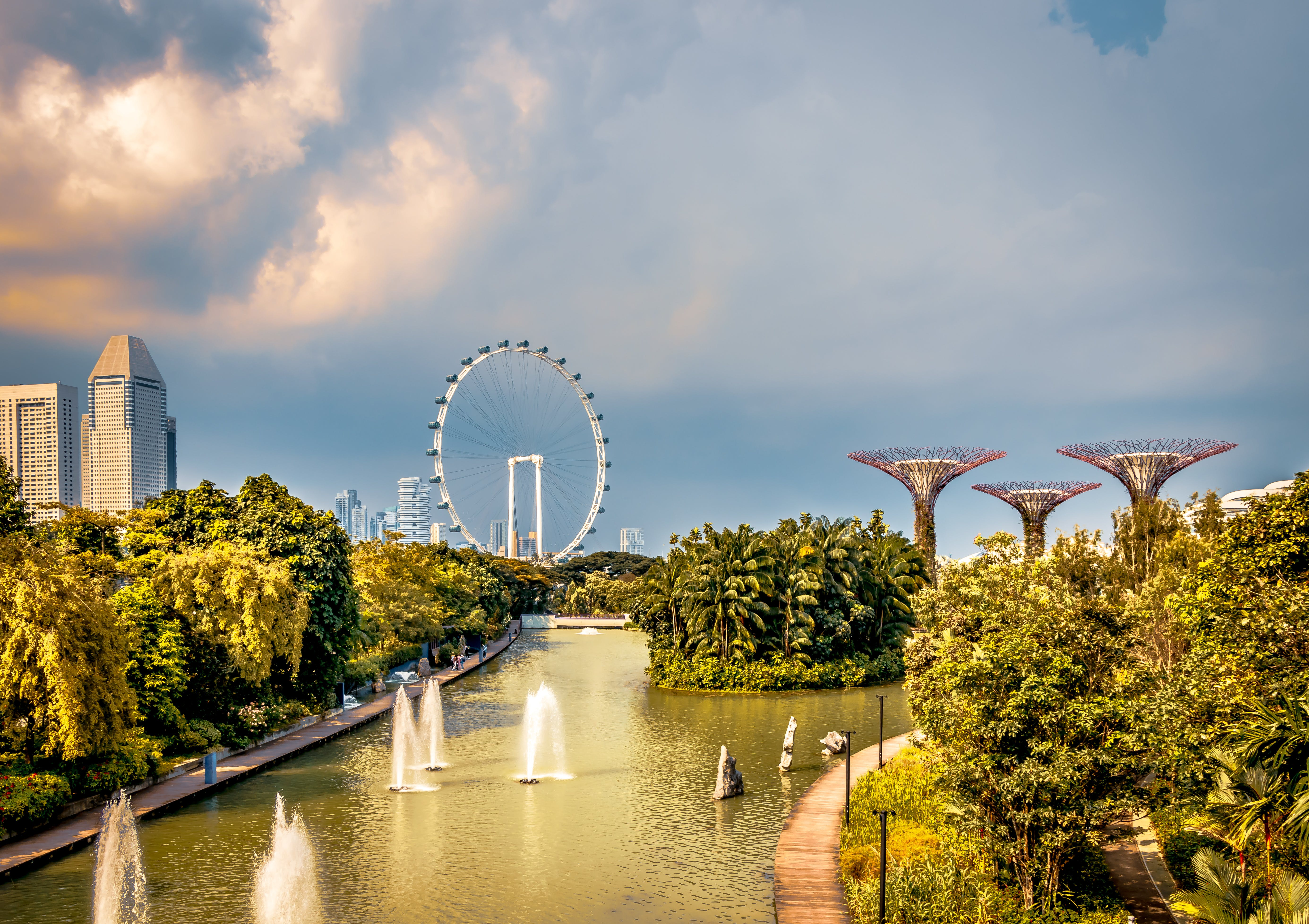 Δωρεάν στοκ φωτογραφιών με Marina Bay Sands, αστικό τοπίο, καταπληκτικός, κέντρο της πόλης