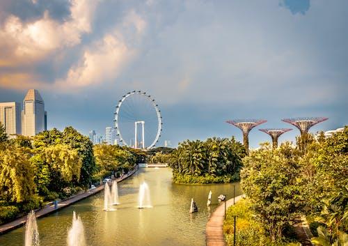 Základová fotografie zdarma na téma krásný, Marina Bay Sands, město, městské panoráma