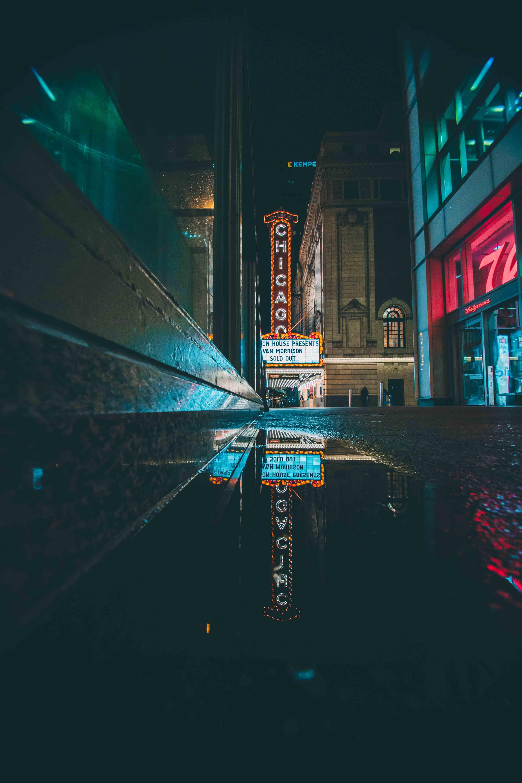 Бесплатное стоковое фото с архитектура, асфальт, вечер, вода